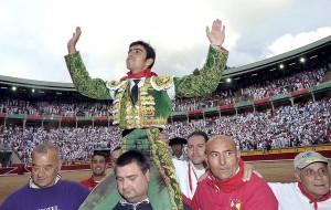 Miguel Ángel Perera se erigió en triunfador de la tarde.