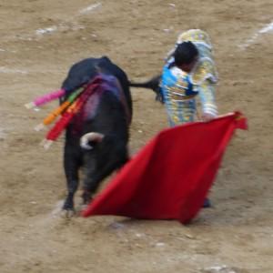 Natural de Iván Fandiño al tercero de la tarde.