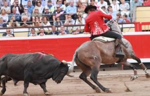 Hermoso hizo debutar de salida a 'Jumillano', un tordo vinoso hijo de 'Mistral'.