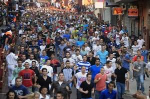 Esta mañana de sábado se incrementado considerablemente el número de 'corredores', hasta 3.100.