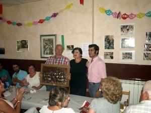 Alfredo Íñiguez, Olga Irisarri y Francisco Expósito.