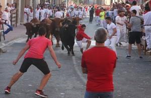 A lo largo del encierro, no hubo que lamentar heridos. Fotografía: ahorazonamedia.com