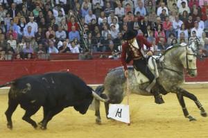 La presencia del navarro provocó el año pasado la mejor entrada de la Feria de El Pilar.