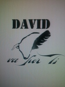 Logotipo del homenaje a David Moratilla.