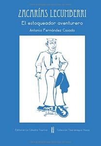 Portada del libro sobre Zacarías Lecumberri.