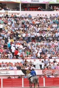 El caballero navarro sigue provocando las mejores entradas en las plazas de México.