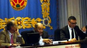 Antonio Purroy, Marc Roumengou y Guillaume François.