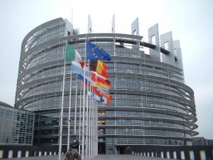 Edificio del parlamento europeo.