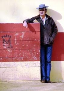 Leopoldo Sainz de la Maza en su plaza de tientas.