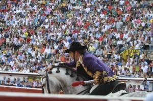 Hermoso de Mendoza provocó un llenazo en Cali en su última actuación en este coso, el 30 de diciembre de hace dos años.