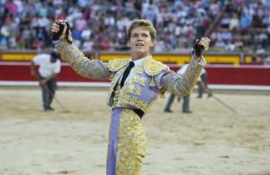 Borja Jiménez obtuvo un triunfo rotundo en Pamplona el pasado 5 de julio.