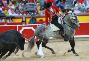 Churumay en su actuación en Pamplona del año pasado.