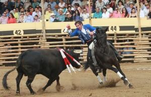 Hermoso de Mendoza hizo debutar a 'Faisán'.