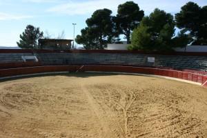 La plaza de toros de Cascante no abrirá sus puertas hasta finales de marzo.