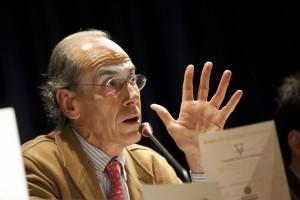 Antonio Purroy, en una conferencia.