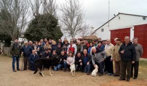 El Club Taurino de Peralta en la ganadería Montalvo.