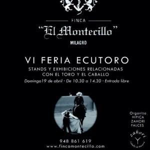 Cartel anunciador de la VI Feria Ecutoro.