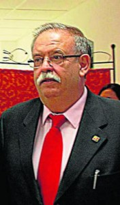 Manuel Ángel Millares, empresario de la plaza de toros de Tudela.