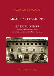 Portada del libro de Villanueva sobre el ganadero arguedano Gabriel Gómez.