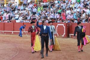 El caballero navarro volvió a torear en Aranjuez diez años después.
