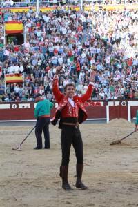 El caballero navarro cortó una oreja el año pasado en Las Ventas.