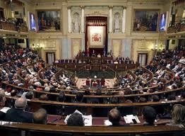 Vista panorámica del Congreso de Diputados.