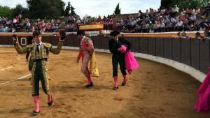 El pasado 9 de mayo, hace menos de un mes, Javier Marín consiguió un triunfo de tres orejas en una plaza de Toledo.