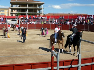 Castejón no reperitá el festival taurino que se celebró el año pasado.