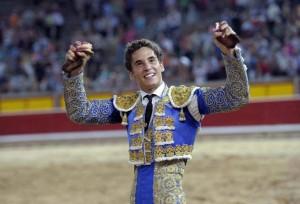 Posada de Maravillas le cortó hace dos años en Pamplona las dos orejas a un utrero de El Parralejo.