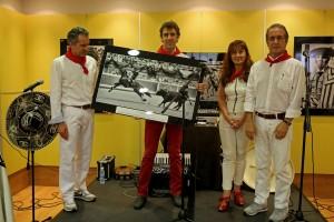 Hermoso de Mendoza recogió un premio que todavía no tenía.