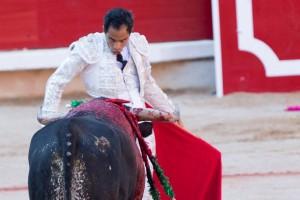 Bolívar estuvo muy centrado toda la tarde.