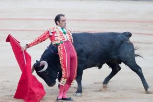Cambiado por detrás de Salvador Cortés, que intentó agradar pero no lo consiguió.