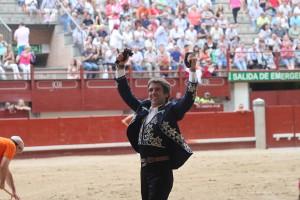 Hermoso de Mendoza consiguió las cuatro orejas de su lote en la plaza de Leganés.