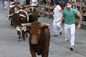 Descendió el número de corredores con el cambio de ganadería. Fotografía: Jesús Garzaron.
