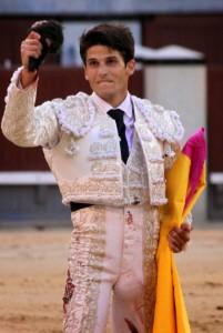 El novillero madrileño Juan Miguel.