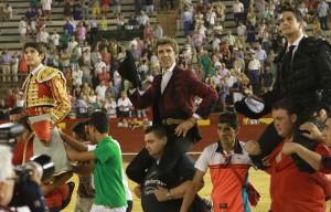 El caballero navarro salió a hombros en Valencia el pasado 25 de julio.