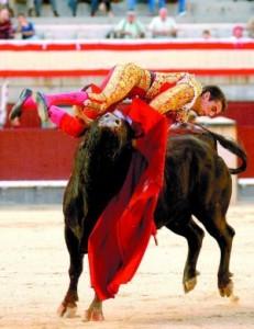 Momento de la cogida que sufrió Francisco Marco en Las Ventas, en octubre de 2006.
