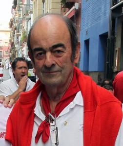 Noel Chandler en la calle De la Merced en 2011. Fotografía: Calleja.