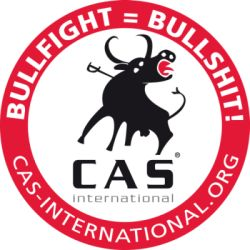 Entidad antitaurina. Logo de CAS International