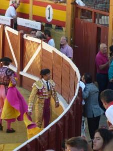 Rivera Ordóñez intervino el año pasado en la primera corrida de toros de la feria de Tudela.