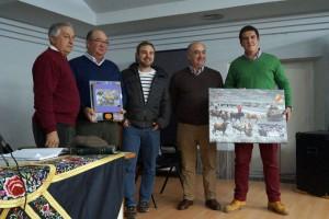 De izda. a dcha.: Juan José Cerdán, Esteban Ustárroz, Ricardo Osta, José Antonio Ustárroz, y Víctor Ustárrroz. Fotografía: U. A.