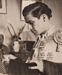 Jesús Córdoba en sus tiempos como matador de toros.