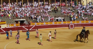 Un paseíllo en la pasada Feria de Tudela.