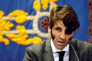 Juan José Padilla, en una charla que ofreció en la Universidad Pública de Navarra.