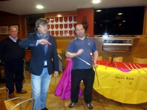 Martín Monreal con el estoque, perfilado para entrar a matar ¿el domingo al Alavés?