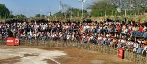 Plaza de toros La Ronda de Hecelchakán.