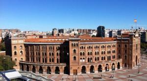 Plaza de toros de Las Ventas, imponente edificación.
