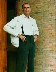 César Moreno, ganadero de bravo, fallecido hace catorce años.