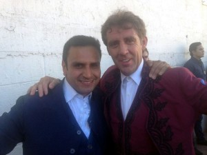 Mata y Hermoso de Mendoza en Ciudad Lerdo el sábado pasado.