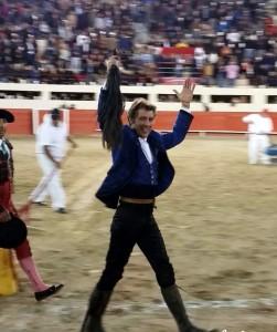 Hermoso consiguió en Ciudad Juárez el sexto rabo de su campaña mexicana.